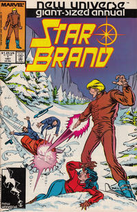 Cover Thumbnail for Star Brand Annual (Marvel, 1987 series) #1 [Direct Edition]