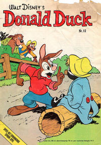Cover Thumbnail for Donald Duck (Oberon, 1972 series) #12/1975