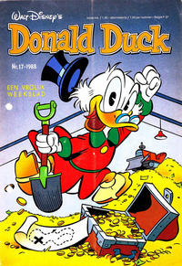 Cover Thumbnail for Donald Duck (Oberon, 1972 series) #17/1988