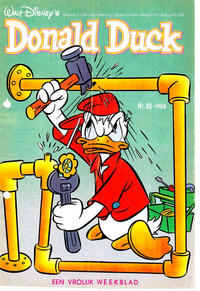 Cover Thumbnail for Donald Duck (Oberon, 1972 series) #28/1988