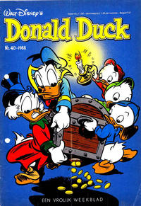 Cover Thumbnail for Donald Duck (Oberon, 1972 series) #40/1988
