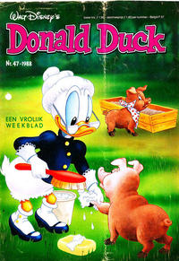 Cover Thumbnail for Donald Duck (Oberon, 1972 series) #47/1988