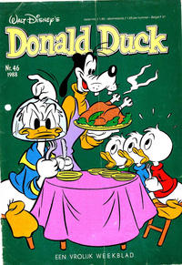 Cover Thumbnail for Donald Duck (Oberon, 1972 series) #46/1988