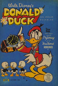Cover Thumbnail for Donald Duck (Geïllustreerde Pers, 1952 series) #1/1952
