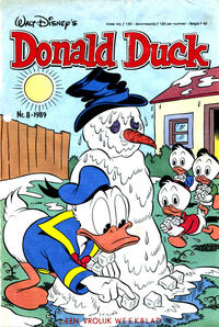 Cover Thumbnail for Donald Duck (Oberon, 1972 series) #8/1989
