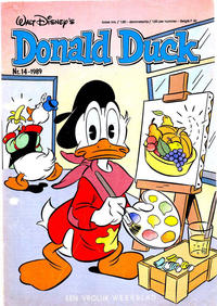 Cover Thumbnail for Donald Duck (Oberon, 1972 series) #14/1989