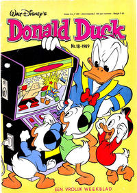 Cover Thumbnail for Donald Duck (Oberon, 1972 series) #18/1989