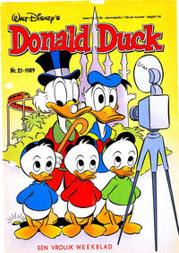 Cover Thumbnail for Donald Duck (Oberon, 1972 series) #21/1989