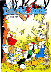 Cover Thumbnail for Donald Duck (Oberon, 1972 series) #38/1989