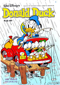 Cover Thumbnail for Donald Duck (Oberon, 1972 series) #28/1989