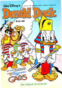 Cover Thumbnail for Donald Duck (Oberon, 1972 series) #32/1989