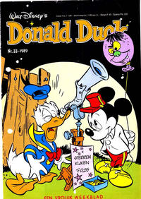 Cover Thumbnail for Donald Duck (Oberon, 1972 series) #33/1989