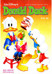 Cover Thumbnail for Donald Duck (Oberon, 1972 series) #47/1989