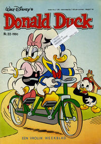 Cover Thumbnail for Donald Duck (Geïllustreerde Pers, 1990 series) #22/1990