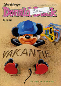 Cover Thumbnail for Donald Duck (Geïllustreerde Pers, 1990 series) #23/1990