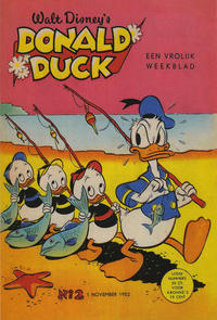Cover Thumbnail for Donald Duck (Geïllustreerde Pers, 1952 series) #2/1952