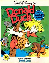 Cover Thumbnail for De beste verhalen van Donald Duck (Oberon, 1976 series) #20 - Als wildeman [Eerste druk]