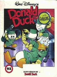 Cover Thumbnail for De beste verhalen van Donald Duck (Geïllustreerde Pers, 1985 series) #92