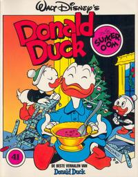 Cover Thumbnail for De beste verhalen van Donald Duck (Oberon, 1976 series) #41 - Als suikeroom