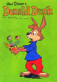 Cover Thumbnail for Donald Duck (Geïllustreerde Pers, 1952 series) #2/1971