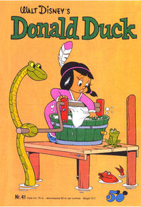 Cover Thumbnail for Donald Duck (Oberon, 1972 series) #41/1973