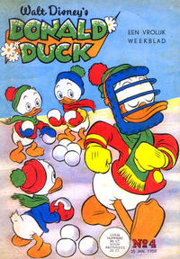 Cover Thumbnail for Donald Duck (Geïllustreerde Pers, 1952 series) #4/1958