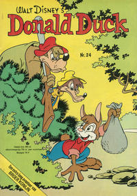 Cover Thumbnail for Donald Duck (Oberon, 1972 series) #24/1975