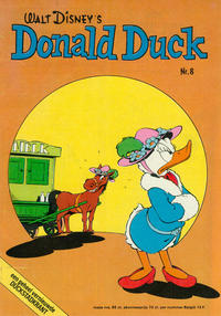 Cover Thumbnail for Donald Duck (Oberon, 1972 series) #8/1975