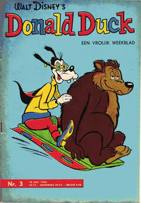 Cover Thumbnail for Donald Duck (Geïllustreerde Pers, 1952 series) #3/1964