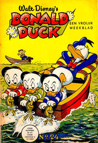 Cover Thumbnail for Donald Duck (Geïllustreerde Pers, 1952 series) #24/1953