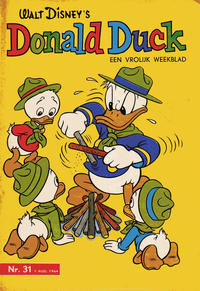 Cover Thumbnail for Donald Duck (Geïllustreerde Pers, 1952 series) #31/1964