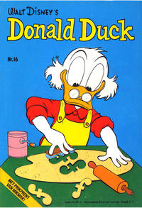 Cover Thumbnail for Donald Duck (Oberon, 1972 series) #16/1974