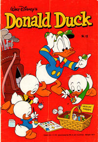 Cover Thumbnail for Donald Duck (Oberon, 1972 series) #12/1978