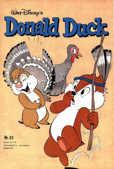 Cover for Donald Duck (Oberon, 1972 series) #35/1979