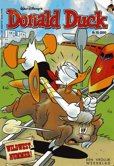 Cover for Donald Duck (VNU Tijdschriften, 1998 series) #33/2000