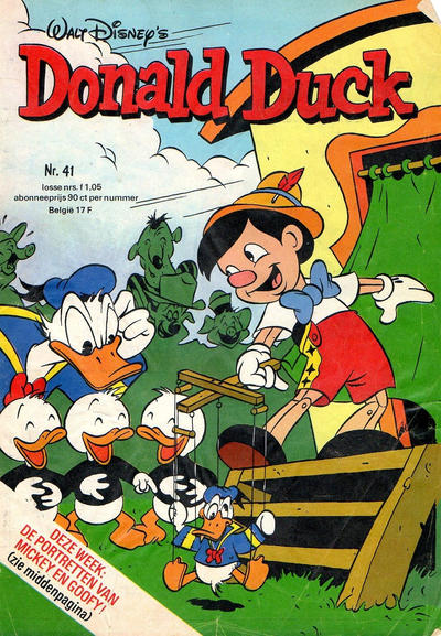 Cover for Donald Duck (Oberon, 1972 series) #41/1977
