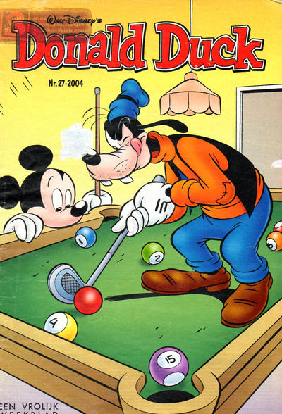 Cover for Donald Duck (Sanoma Uitgevers, 2002 series) #27/2004