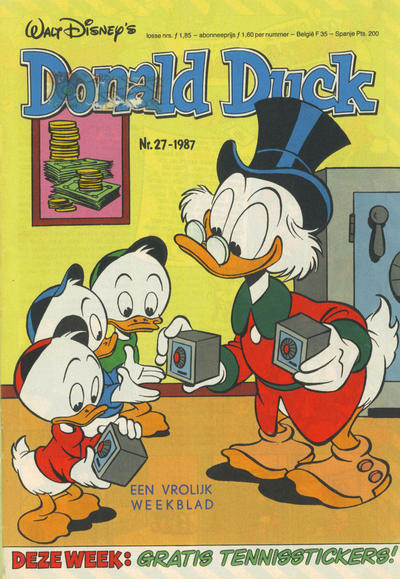 Cover for Donald Duck (Oberon, 1972 series) #27/1987
