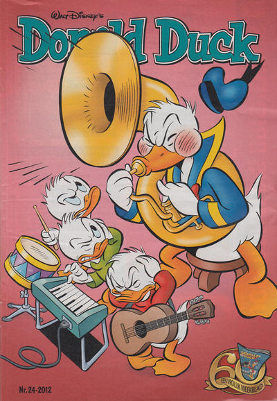 Cover for Donald Duck (Sanoma Uitgevers, 2002 series) #24/2012