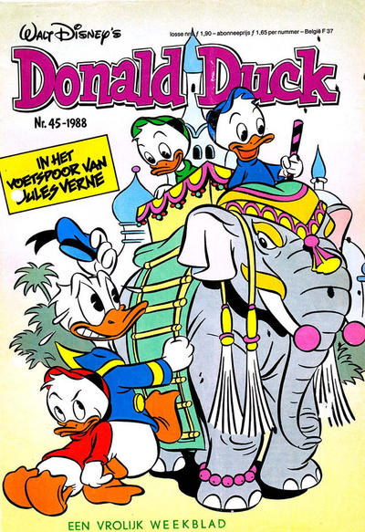 Cover for Donald Duck (Oberon, 1972 series) #45/1988