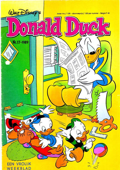 Cover for Donald Duck (Oberon, 1972 series) #17/1989
