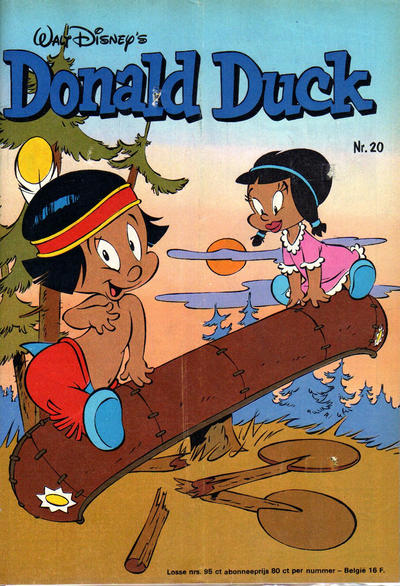 Cover for Donald Duck (Oberon, 1972 series) #20/1976