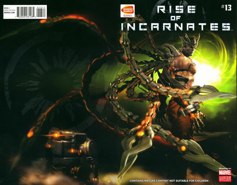 Cover for Rise of Incarnates (Marvel, 2014 series) #13