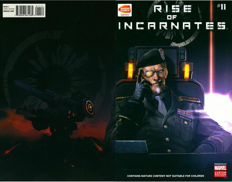 Cover for Rise of Incarnates (Marvel, 2014 series) #11
