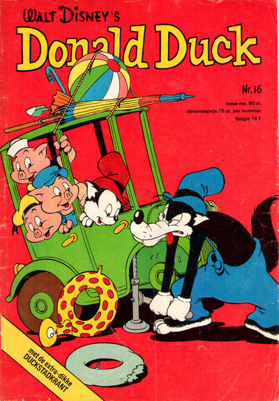Cover for Donald Duck (Oberon, 1972 series) #16/1975