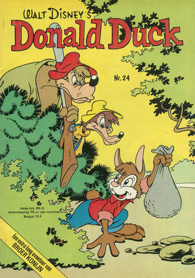 Cover for Donald Duck (Oberon, 1972 series) #24/1975