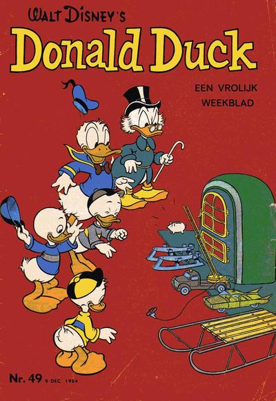 Cover for Donald Duck (Geïllustreerde Pers, 1952 series) #49/1964