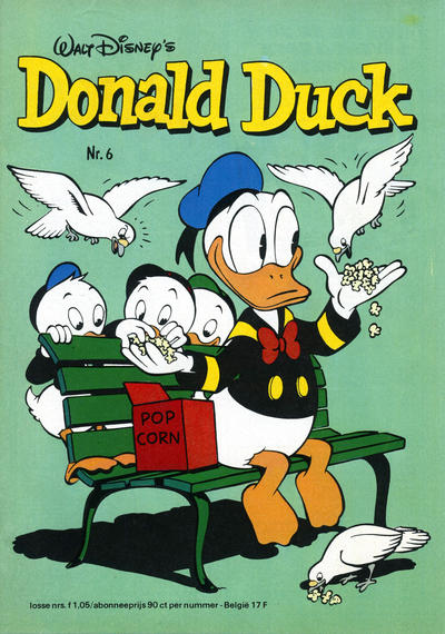 Cover for Donald Duck (Oberon, 1972 series) #6/1977