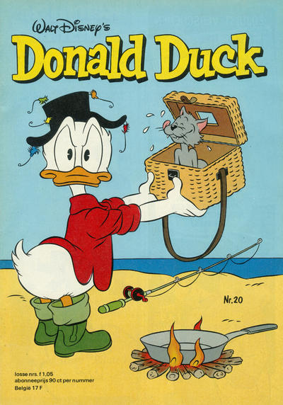 Cover for Donald Duck (Oberon, 1972 series) #20/1977
