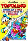 Cover for Topolino (Arnoldo Mondadori Editore, 1949 series) #1618